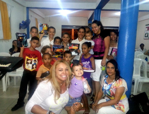 School Supplies Donation, Moca, Dominican Republic
