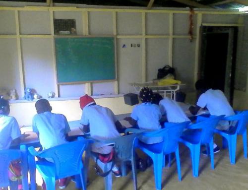2017-18 Opening of School, Aguacates Arriba Village
