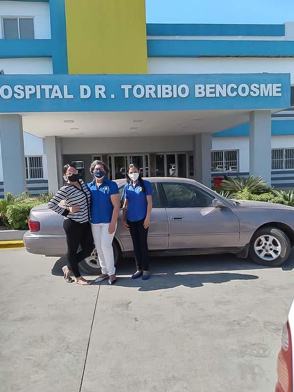 Dr. Toribio Bencosme Hospital Equipment Donation, February 2021